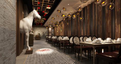 印象餐厅,灵感来自于自然。