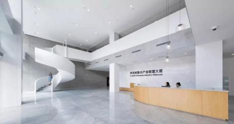成都海伦天麓销售中心,东方优雅与现代融合的空间缩影!