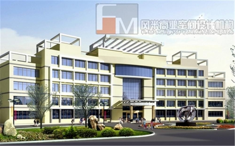 南宁隆安宝塔医药产业园办公楼
