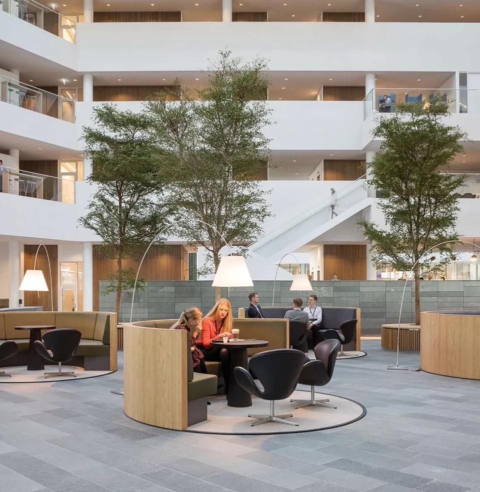 可持续工作场打造自由办公室-Nordea哥本哈根新总部