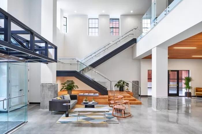 创意热店马丁社 用新的创意空间来激发员工的灵感