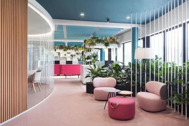 引领办公空间软装潮流趋势 德国品牌设计机构办公室改造 | Ippolito Fleitz Group