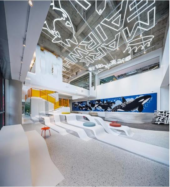 办公室规划成这样 你还想在家办公吗?--马克华菲上海总部办公室